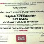 Autoryzowany zakład firmy Czakram